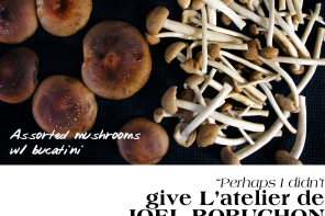 mushroom pasta featured header