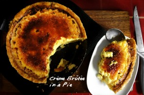 cream brulee pie featured