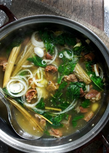Lady And Pups Soup From Yunnan