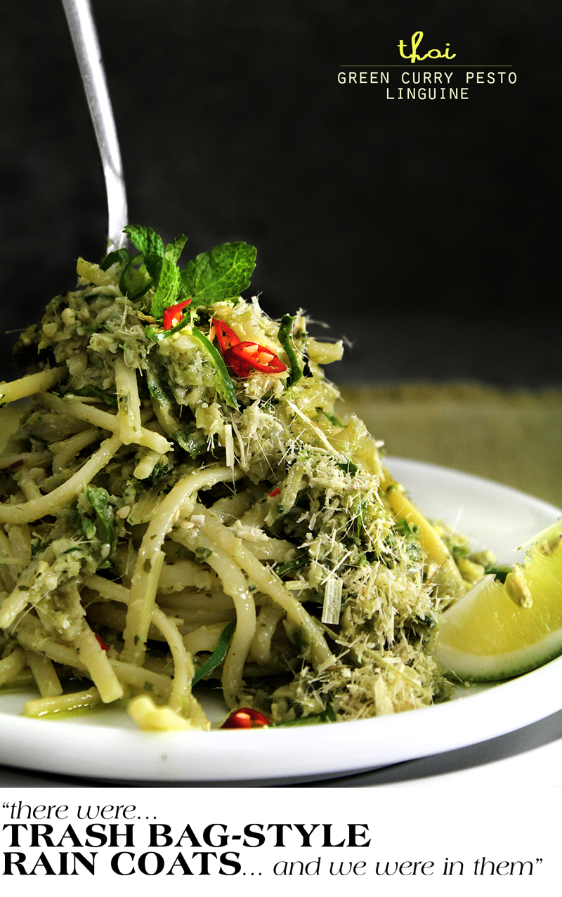 Thai-style Green Pesto