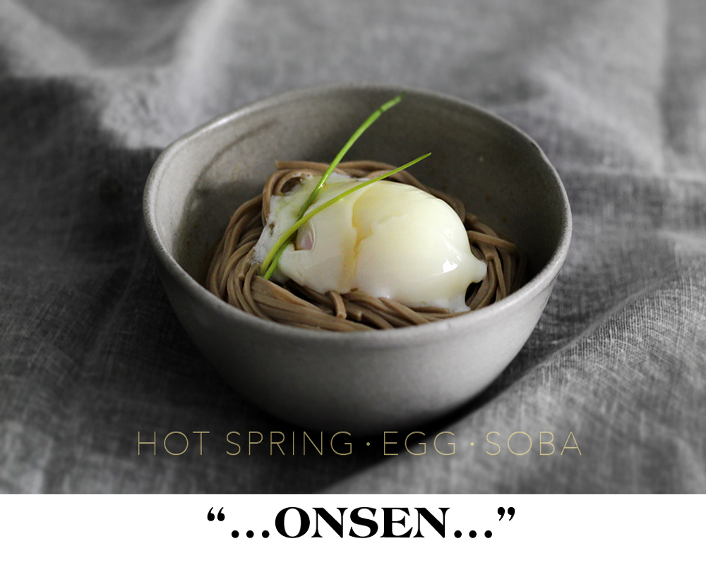 hot spring egg (revisited) soba