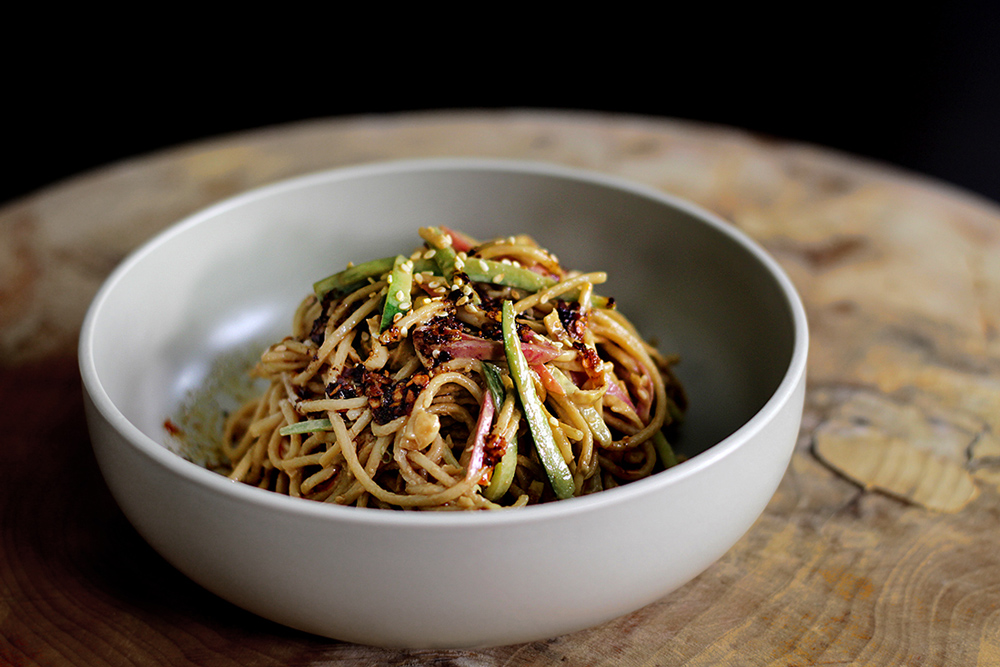Cold-Dressed Noodles, Yibin-Style Recipe — Dishmaps
