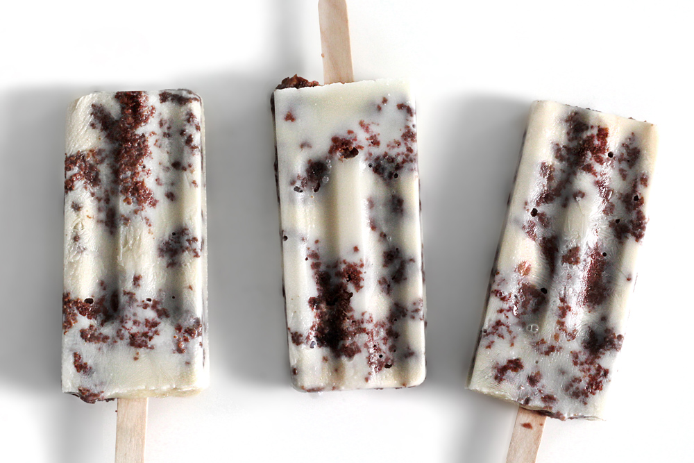 BROWNIE-COW POPSICLES