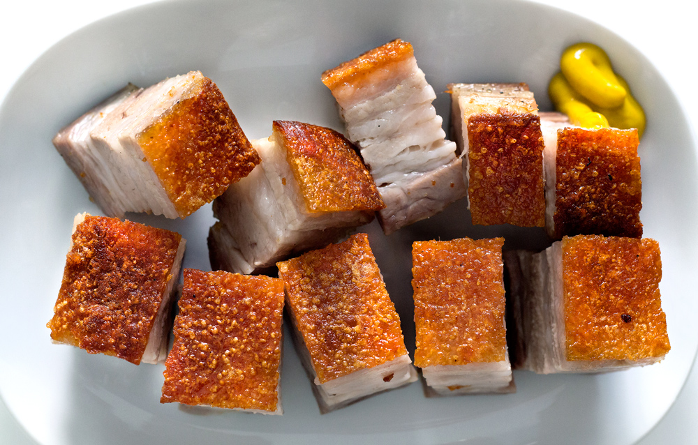 CANTONESE-STYLE ROAST PORK BELLY