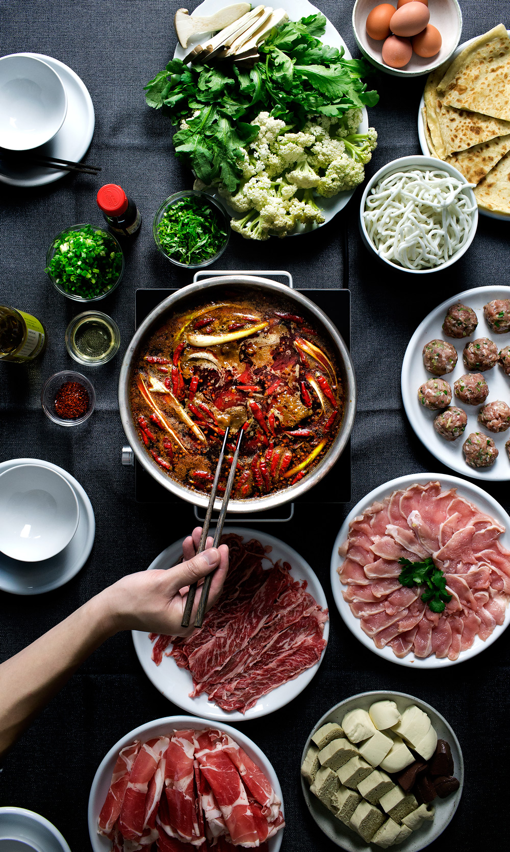Lady And Pups How To Make Sichuan Ma La Hot Pot On