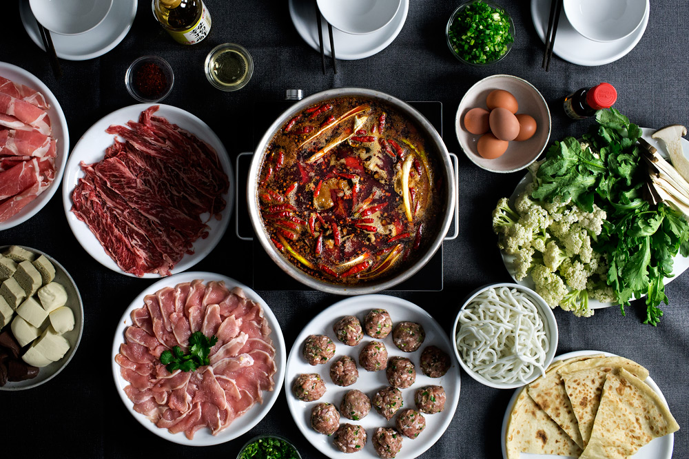 HOW TO MAKE SICHUAN MA-LA HOT POT ON THANKSGIVING