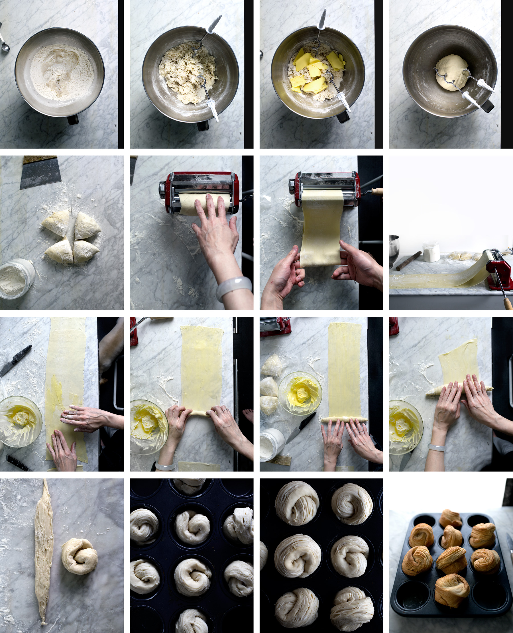 How to make cruffin with pasta machine lady and pups an angry