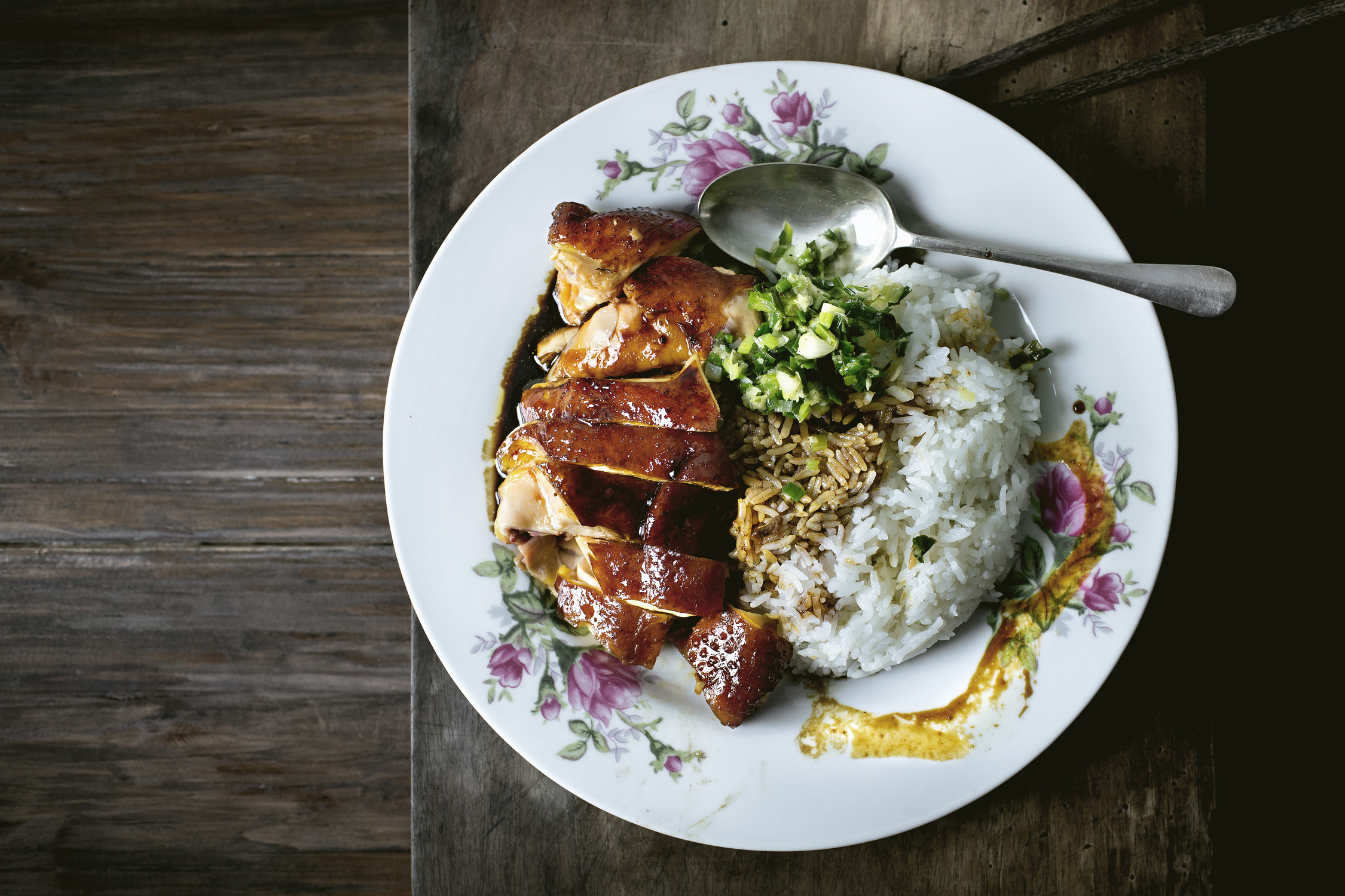 SUPPLE SLOW-COOKED SOY SAUCE CHICKEN RICE