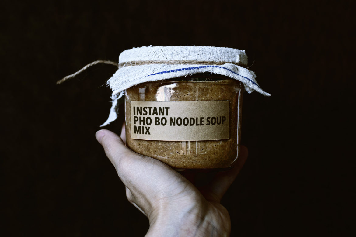 HOMEMADE INSTANT NOODLE MIX SERIES