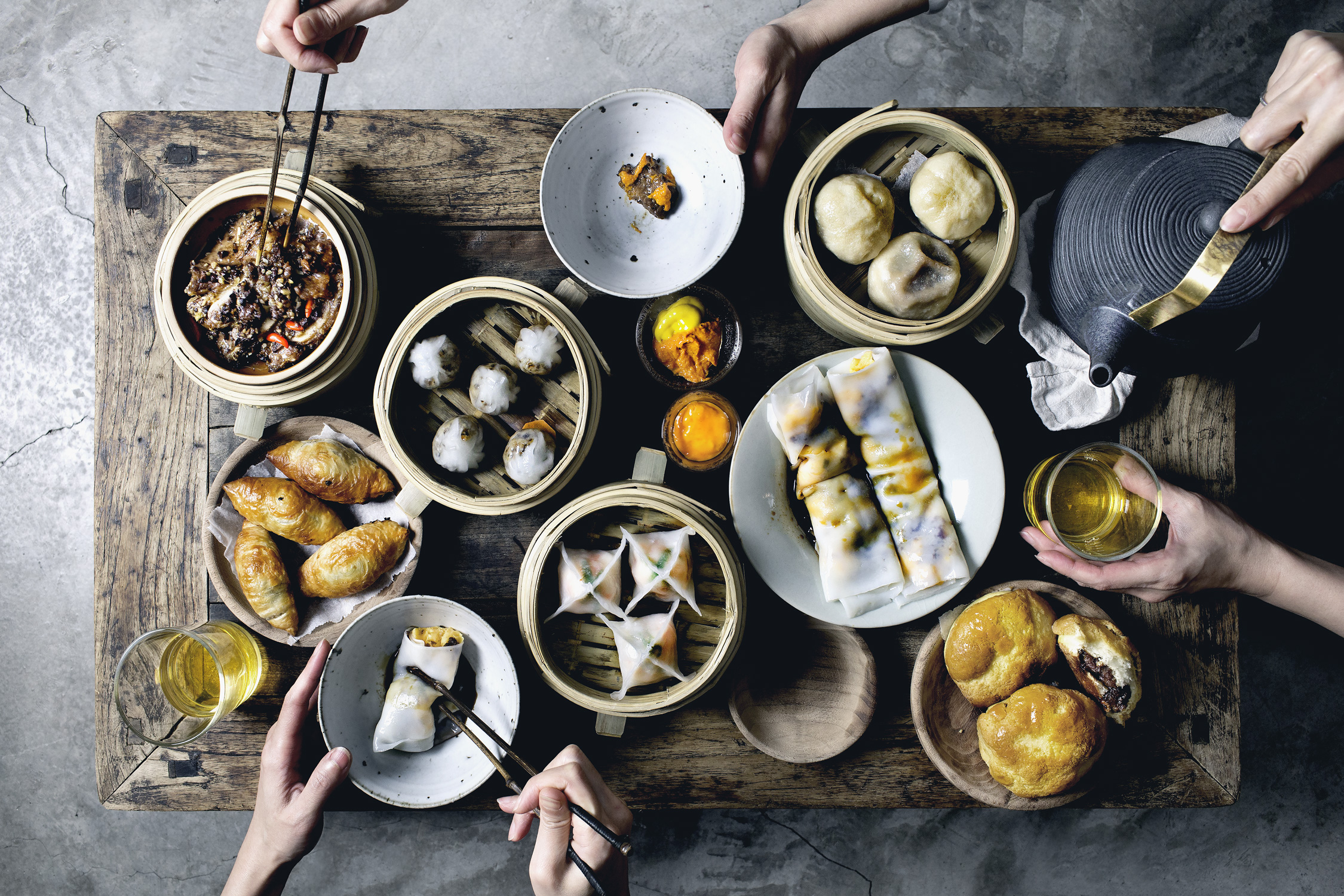 DIM SUM MONTH FINALE: Tapenade short ribs, plus dim sum party game plan