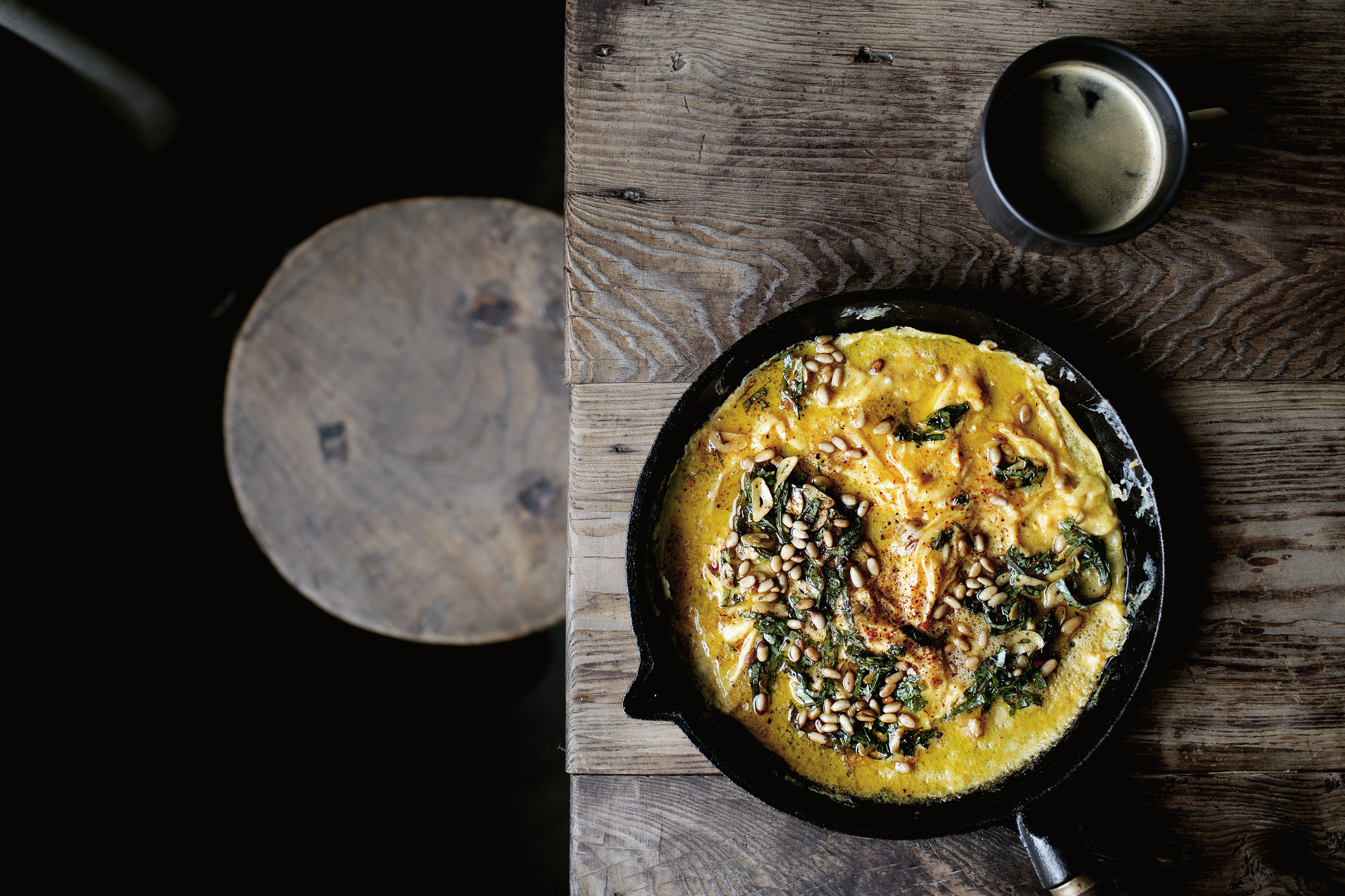THE BEST, YET, ONE-SKILLET CREAMY EGG